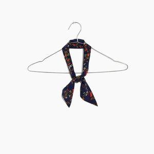 [NWT] Madewell Silk Skinny Scarf/Bandana/Headband
